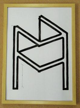 L E  005    23.1.a1(Black ink Collection) black ink on paper