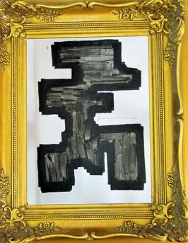 L E  007    (Black ink Collection) black ink on paper