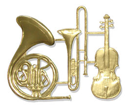Music Instruments Set Of 3 pcs.