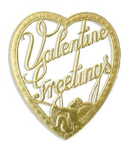 Valentine Greetings Set of 3 pcs.