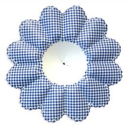 Bouquet Holder checkered blue ( 25 pieces )