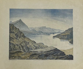 Glaus Alfred, «Blick auf Thunersee»