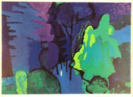 Friedli Bendicht, «Bäume im Park», (bereits verkauft)