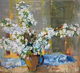Schwarzenbach Armin, «Vase mit Alpenblumen»
