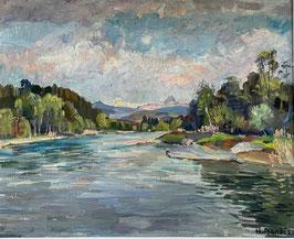 Bandi, Hans, «Aarelauf bei Thun», (bereits verkauft)