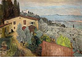 Surbek Victor, «San Domenico bei Florenz» , (bereits verkauft)