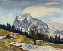 Bandi, Hans, «Wetterhorn bei Grindelwald»