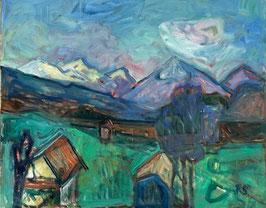 Schär Robert, «Landschaft mit Niesen», (bereits verkauft)