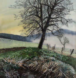Luttrell Teresa, «Wintersunrise in Sigriswil»