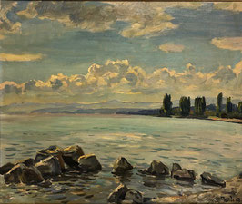 Bandi Hans, «Wolken über dem See», (bereits verkauft)