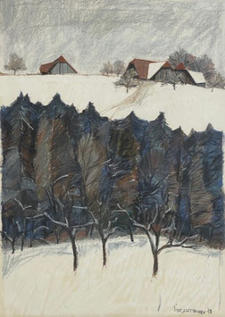 Siegenthaler Kurt, «Landschaft», (bereits verkauft)