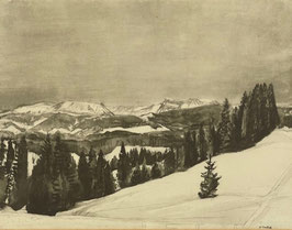 Surbek Victor, «Winterlandschaft»