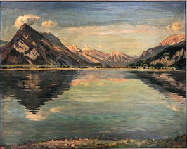 Bandi Hans, «Thunersee bei Leissigen», (bereits verkauft)