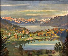 Bandi Hans, «Burgseeli bei Ringgenberg mit Brienzersee», (bereits verkauft)