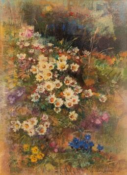 Schwarzenbach Armin, «Bergblumen», (bereits verkauft)