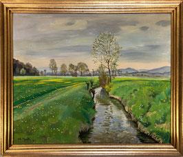 Bandi Hans, «Landschaft mit Bach», (bereits verkauft)