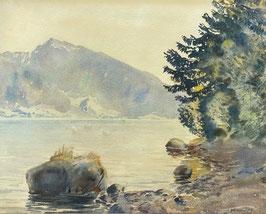 Gschwind Hans, «Thunersee gegen Justistal (Spiez-Faulensee), (bereits verkauft)
