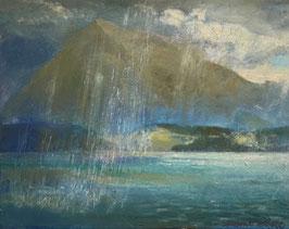 Clare Etienne, «Niesen im Gewitter», (bereits verkauft)