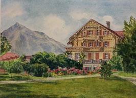 Gschwind Hans, «Alter Lötschberg Spiez», (bereits verkauft)