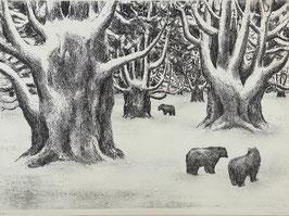 Bergmann Peter, «Bären im Winter»