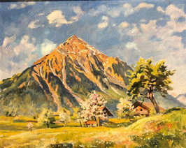 Bandi Hans, «Niesen im Frühling», (bereits verkauft)