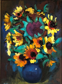 Müller Jakob Paul «Paolo», «Sonnenblumen», (bereits verkauft)