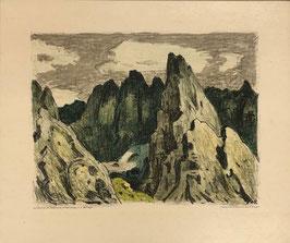 Brügger Arnold, «Berglandschaft»