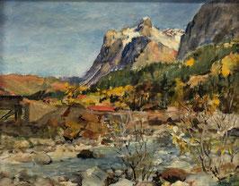 Nobs R., «Grindelwald und Wetterhorn», (bereits verkauft)