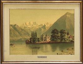 Unbekannt, «Schloss Schadau am Thunersee», (bereits verkauft)