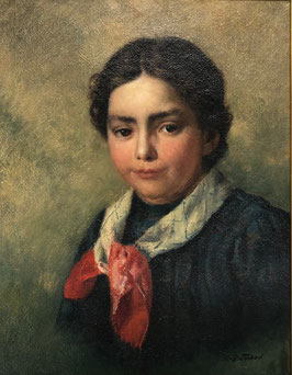 Tschan Rudolf, «Porträt Anni Gafner»