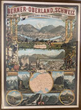 Werbeplakat Berner Oberland
