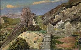 Surbek Victor, «Südliche Landschaft»