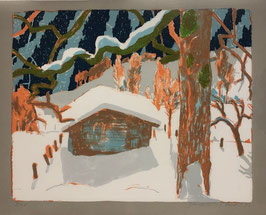 Buri Samuel, «Haus im Schnee»