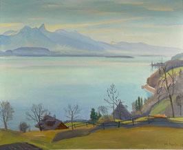 Bandi Hans, «Thunersee, 1938», (bereits verkauft)