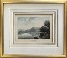 Ackermann R., View of the Lake of Thun