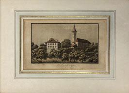 Weibel J., «Kirche und Pfarrhaus Hilterfingen», (bereits verkauft)