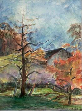 Flück Martin Peter, «Herbst»