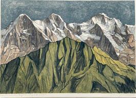 Diggelmann Alex Walter, «Eiger, Mönch und Jungfrau»