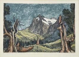 Diggelmann Alex Walter, «Grindelwald mit Wetterhorn»