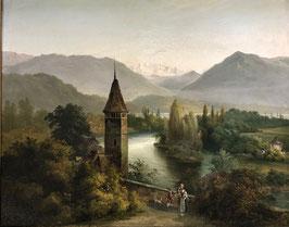 Volmar Carl Franz Rudolf, «Der schwarze Turm», (bereits verkauft)