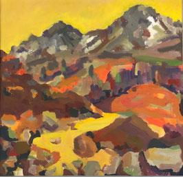 Täschler Kurt, «Herbsttage in den Bergen», (bereits verkauft)