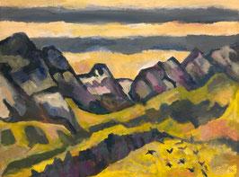 Täschler Kurt, «Blick gegen Osten mit Morgenberghorn», (bereits verkauft)