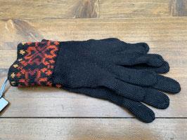 Stern schwarz Handschuhe