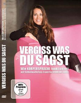 VERGISS WAS DU SAGST – Wie Körpersprache funktioniert (DVD)