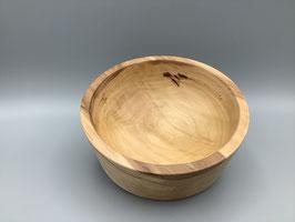 Schale aus Apfelholz, rund