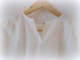 Eurythmiekleid Seide/Baumwolle weiß