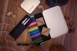 Seccorell Großbox Finger-Wischmalfarbe