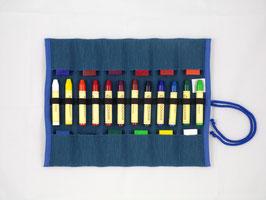 Stiftemäppchen gefüllt 12+12