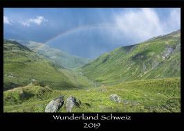 """Kalender """"Wunderland Schweiz 2019"""""""
