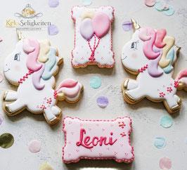 Einhorn-Kekse für einen unvergesslichen Geburtstag